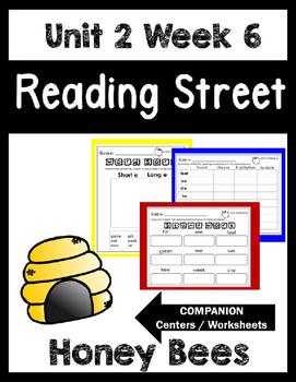 Reading Street.Unit 2 Week 6.Honey Bees.Centers/Focus Wall/Handwriting