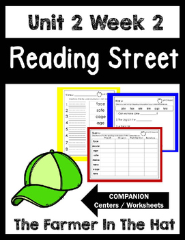 Reading Street.Unit 2Week 2.The Farmer in the Hat.Centers/Focus Wall/Handwriting