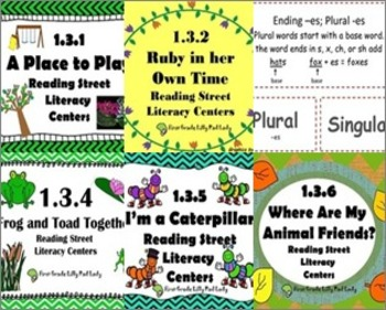 Reading Street Centers and Printables (Unit 3 Bundle)