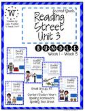 Reading Street Unit 3 Bundle