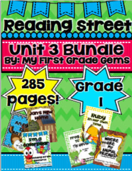 Reading Street Unit 3 Bundle Pack- Grade 1