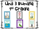 Reading Street, Unit 3,  1st grade, Centers and Printables