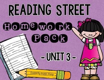 Reading Street Unit 3 Daily Homework
