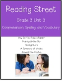 Reading Street Unit 3 Grade 3 Bundle