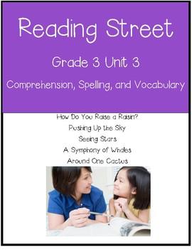 Reading Street Unit 3 Grade 3 Bundle