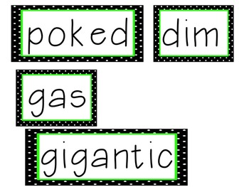 Reading Street Unit 3 High Frequency Words