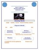 Reading Street Unit 3 Week 1 Weekly Skills Sheet Little Panda