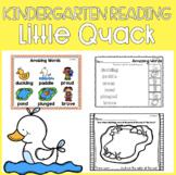 Reading Street Unit 3 Week 2: Little Quack