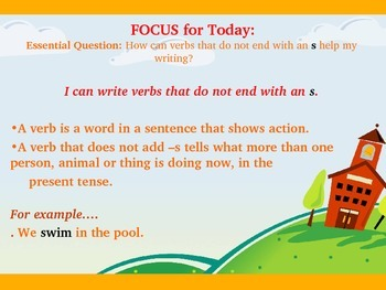 Reading Street Unit 3 Week 3 Grammar in Writing an Opinion