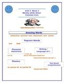 Reading Street Unit 3 Week 3 Weekly Skills Sheet George Wa