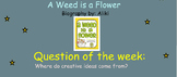 Reading Street Unit 3 Week 4: A Weed Is a Flower