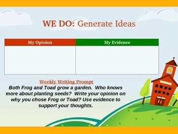 Reading Street Unit 3 Week 4 Grammar in Writing an Opinion: Let's Connect It