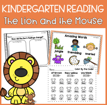 Reading Street Unit 3 Week 6: The Lion and the Mouse