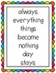Reading Street Unit 3  Weeks 1-6 Focus Wall Posters: Grade 1