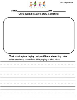 Reading Street Unit 3 Writing Prompts