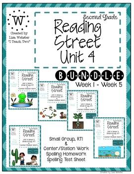 Reading Street Unit 4 Bundle