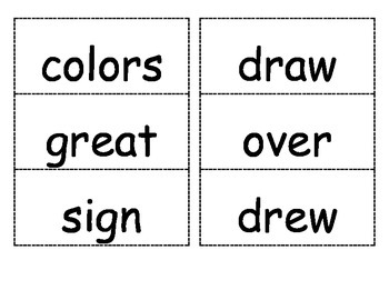Reading Street Unit 4 Flash Cards for 1st Grade