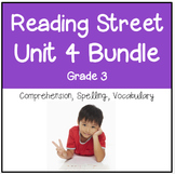 Reading Street Unit 4 Grade 3 Bundle