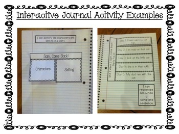 Reading Street Unit 4 Interactive Journal Printables: First Grade