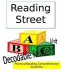 Reading Street Unit 4 Phonics/Reading Comprehension Activities