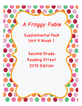 Reading Street Unit 4 Resource Pack Bundle Second Grade