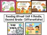 Reading Street Unit 4 Second Grade Bundle--Differentiated