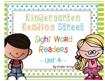 Reading Street Unit 4 Sight Word Readers