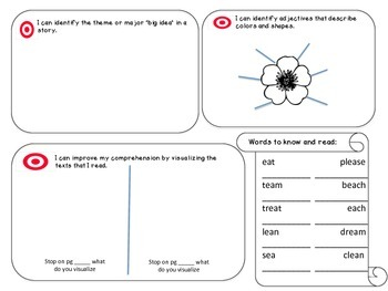 Reading Street Unit 4 Student Focus Boards (2013 Common Core Edition)