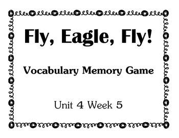 Reading Street Unit 4 Vocab Game