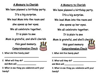 Reading Street Unit 4 Week 1 - Sing With Me song with comprehension questions