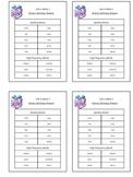 Reading Street Unit 4 Week 1 Spelling Packet
