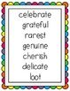 Reading Street Unit 4 Weeks 1-6 Focus Wall Posters: Grade 1