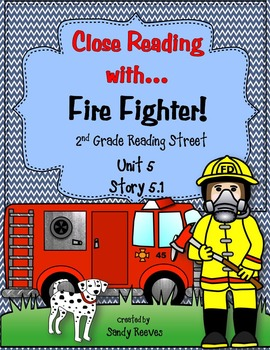 Reading Street Unit 5, 2008 Close Reading Bundle