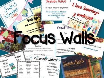Reading Street Unit 5 Bundle: Focus Walls, Brochures, Stud