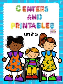 Reading Street, Unit 5, 1st Grade, Centers and Printables For All Ability Levels