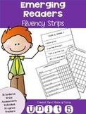 Emerging Readers Unit 5 Fluency Sentences (Aligned to Reading Street)