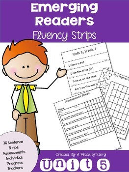 Emerging Readers Unit 5 Fluency Sentences (Aligned to Read
