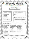 Reading Street Unit 5 Grade 6 Vocabulary Spelling Resources