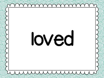 Reading Street First Grade Unit 5 High Frequency Words PowerPoint Slideshow