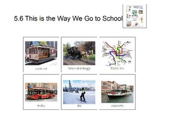 Reading Street Unit 5 Kindergarten Storyboards and Amazing Words