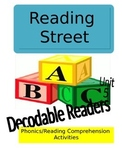 Reading Street Unit 5 Phonics/Reading Comprehension Activities