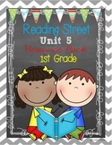 Reading Street Unit 5 Resource Pack