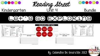 Reading Street Unit 4 Roll & Write