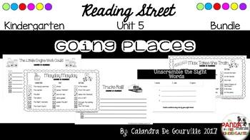 Reading Street Unit 5 Roll & Write