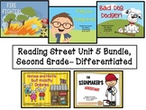 Reading Street Unit 5 Second Grade Bundle--Differentiated