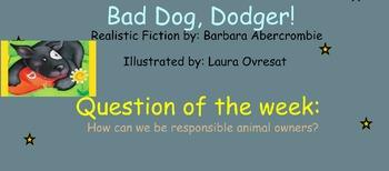 Reading Street Unit 5 Week 3: Bad Dog Dodger