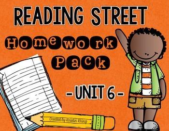 Reading Street Unit 6 Daily Homework