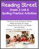 Reading Street Unit 6 Grade 3 Bundle