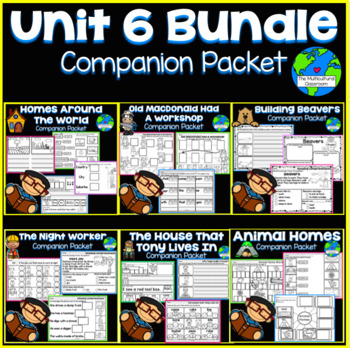 RS SideKick Unit 6  Bundle {Compatible with Reading Street}