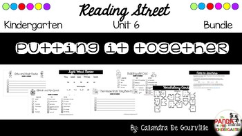Reading Street Unit 6 Roll & Write